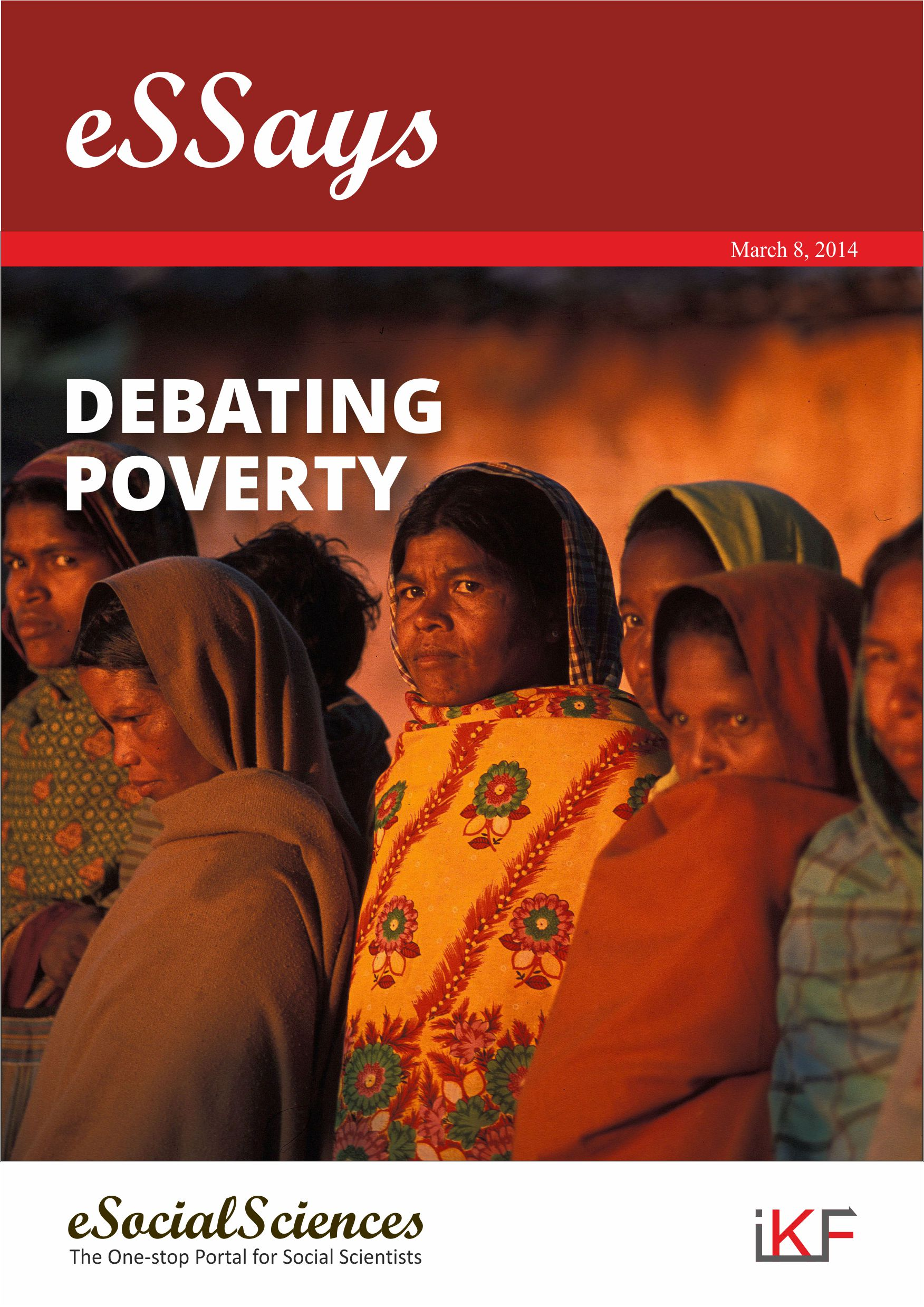 debating poverty cover high res jpg ess announces the first of a series of essays dossiers on issues of public concern this series of essays is an attempt to fill that gap and make social and